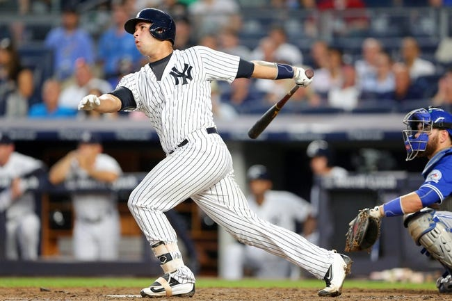 New York Yankees vs. Toronto Blue Jays - 8/17/16 MLB Pick, Odds, and Prediction