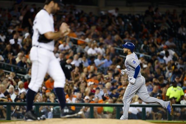 Detroit Tigers vs. Kansas City Royals - 8/17/16 MLB Pick, Odds, and Prediction