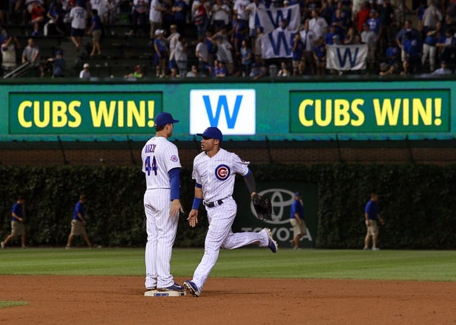 Cubs vs. Brewers - 8/18/16 MLB Pick, Odds, and Prediction