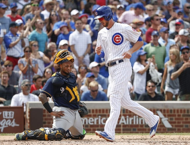 Milwaukee Brewers vs. Chicago Cubs - 9/5/16 MLB Pick, Odds, and Prediction