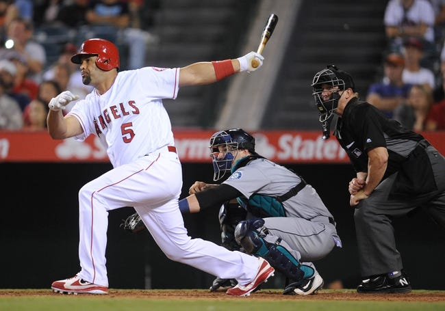 Seattle Mariners vs. Los Angeles Angels - 9/2/16 MLB Pick, Odds, and Prediction