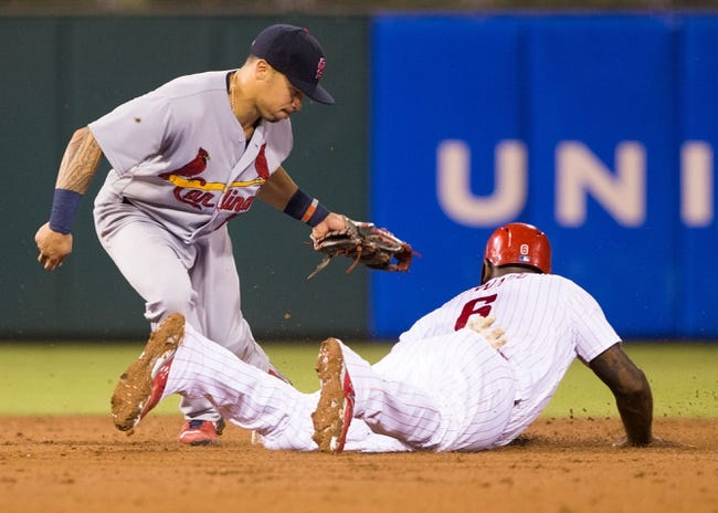Philadelphia Phillies vs. St. Louis Cardinals - 8/20/16 MLB Pick, Odds, and Prediction