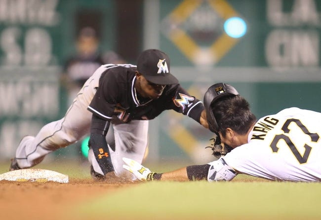 Pittsburgh Pirates vs. Miami Marlins - 8/21/16 MLB Pick, Odds, and Prediction