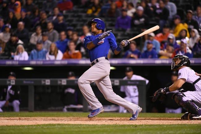 Rockies vs. Cubs - 8/20/16 MLB Pick, Odds, and Prediction
