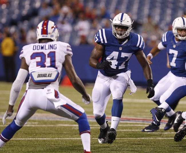 Buffalo Bills vs. Indianapolis Colts - 12/10/17 NFL Pick, Odds, and Prediction