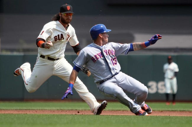 San Francisco Giants vs. New York Mets - 8/21/16 MLB Pick, Odds, and Prediction