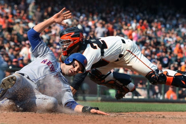 New York Mets vs. San Francisco Giants NL Wild Card - 10/5/16 MLB Pick, Odds, and Prediction