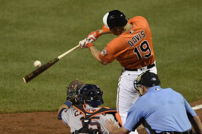 Baltimore Orioles vs. Houston Astros - 8/21/16 MLB Pick, Odds, and Prediction