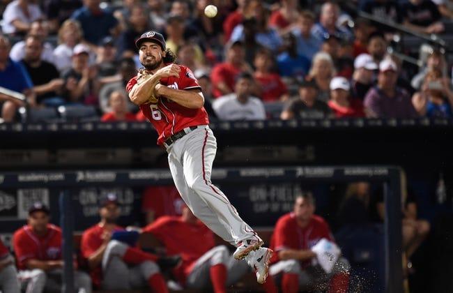 Atlanta Braves vs. Washington Nationals - 8/21/16 MLB Pick, Odds, and Prediction