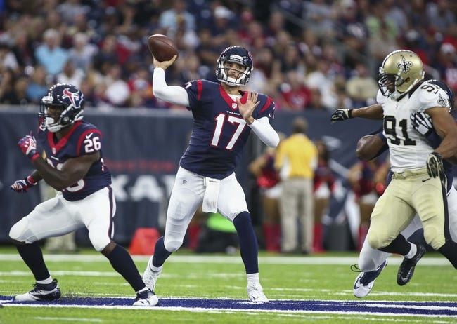 Arizona Cardinals at Houston Texans - 8/28/16 NFL Pick, Odds, and Prediction