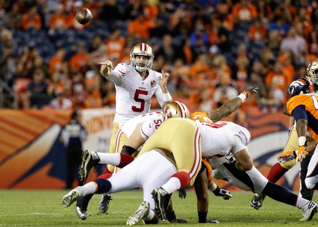 San Francisco 49ers vs. Green Bay Packers - 8/26/16 NFL Pick, Odds, and Prediction