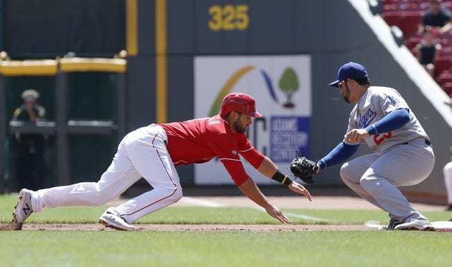 Cincinnati Reds vs. Los Angeles Dodgers - 8/22/16 MLB Pick, Odds, and Prediction