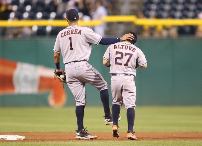 Pittsburgh Pirates vs. Houston Astros - 8/23/16 MLB Pick, Odds, and Prediction