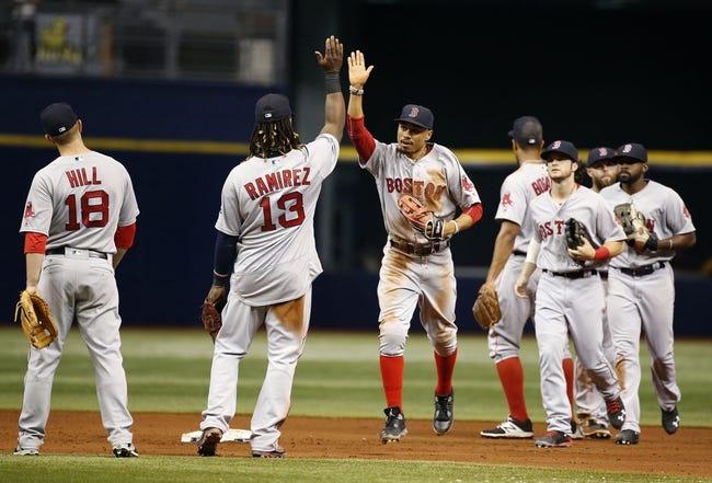 Tampa Bay Rays vs. Boston Red Sox - 8/23/16 MLB Pick, Odds, and Prediction