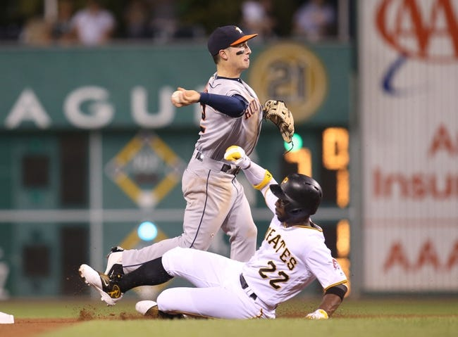 Pittsburgh Pirates vs. Houston Astros - 8/24/16 MLB Pick, Odds, and Prediction