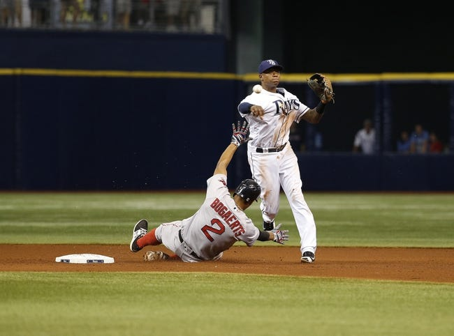 Tampa Bay Rays vs. Boston Red Sox - 8/25/16 MLB Pick, Odds, and Prediction