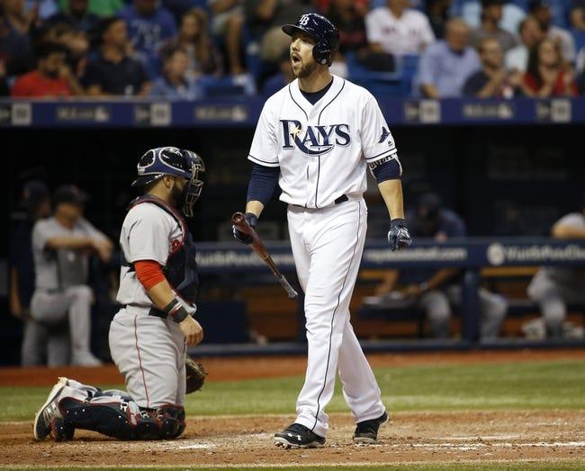 Tampa Bay Rays vs. Boston Red Sox - 8/24/16 MLB Pick, Odds, and Prediction