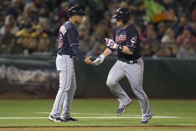 Athletics vs. Indians - 8/24/16 MLB Pick, Odds, and Prediction
