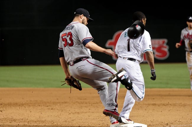 Diamondbacks vs. Braves - 8/25/16 MLB Pick, Odds, and Prediction
