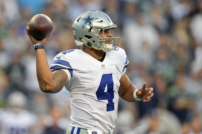 Dallas Cowboys vs. New York Giants - 9/11/16 NFL Pick, Odds, and Prediction