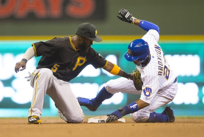 Pittsburgh Pirates vs. Milwaukee Brewers - 9/2/16 MLB Pick, Odds, and Prediction