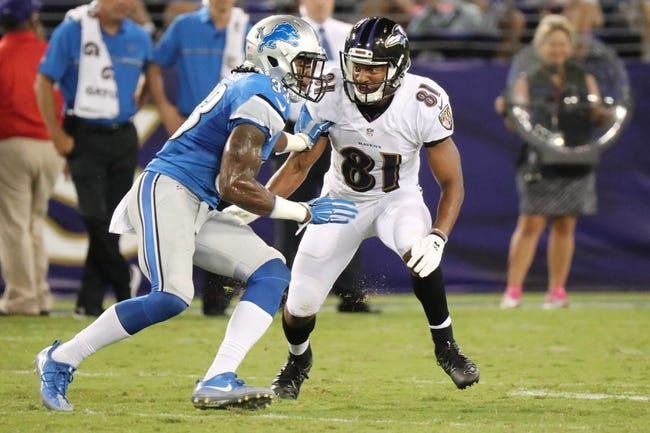 Detroit Lions at Baltimore Ravens - 12/3/17 NFL Pick, Odds, and Prediction