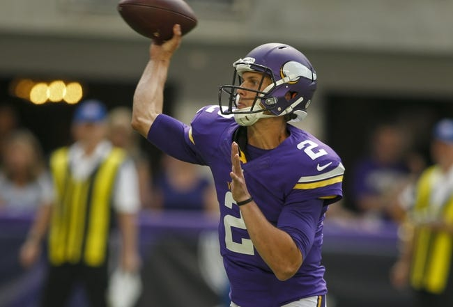 Minnesota Vikings vs. Los Angeles Rams - 9/1/16 NFL Pick, Odds, and Prediction