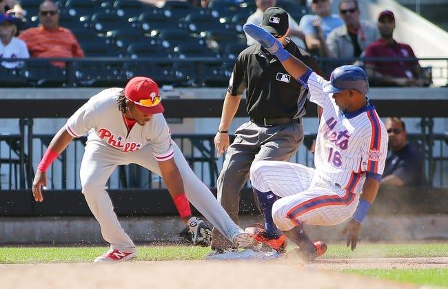 New York Mets vs. Philadelphia Phillies - 9/22/16 MLB Pick, Odds, and Prediction