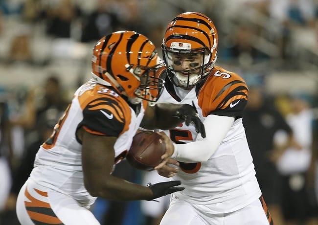 Cincinnati Bengals vs. Indianapolis Colts - 9/1/16 NFL Pick, Odds, and Prediction