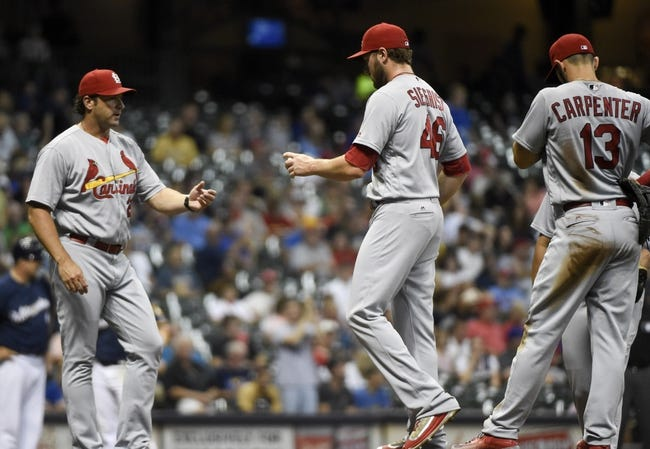Brewers vs. Cardinals - 8/30/16 MLB Pick, Odds, and Prediction