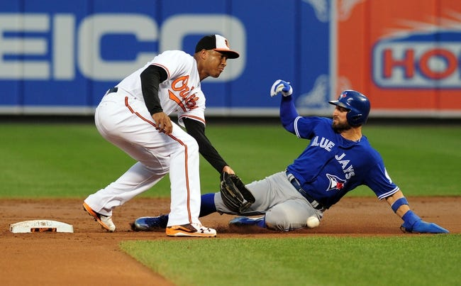 Baltimore Orioles vs. Toronto Blue Jays - 8/31/16 MLB Pick, Odds, and Prediction