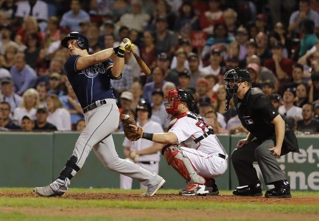 Boston Red Sox vs. Tampa Bay Rays - 8/31/16 MLB Pick, Odds, and Prediction