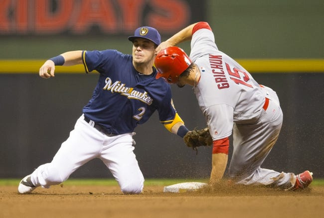 St. Louis Cardinals vs. Milwaukee Brewers - 9/8/16 MLB Pick, Odds, and Prediction