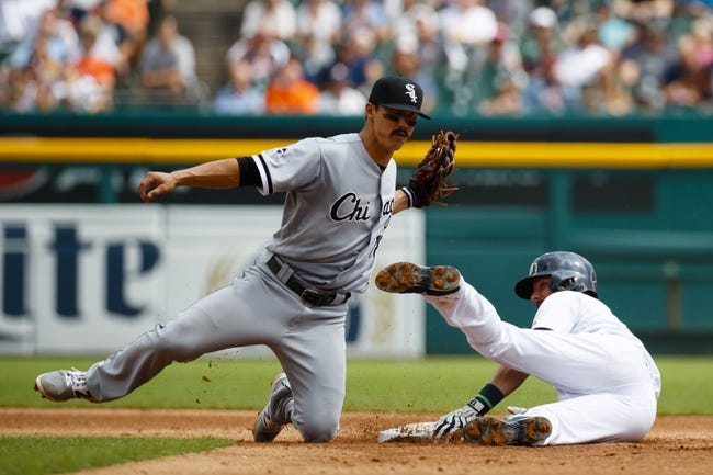 Chicago White Sox vs. Detroit Tigers - 9/5/16 MLB Pick, Odds, and Prediction