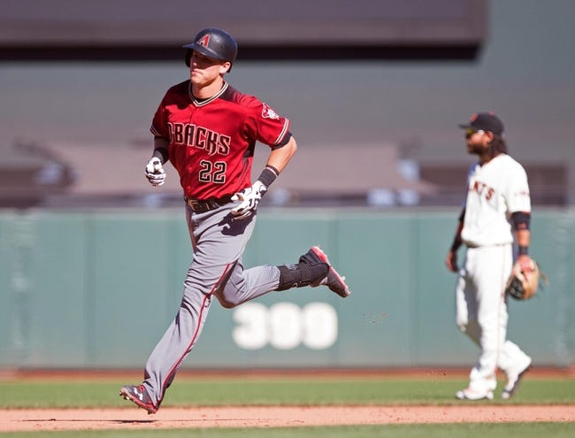 Arizona Diamondbacks vs. San Francisco Giants - 9/9/16 MLB Pick, Odds, and Prediction