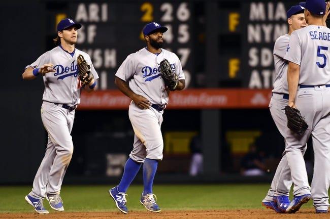 Los Angeles Dodgers vs. Colorado Rockies - 9/23/16 MLB Pick, Odds, and Prediction