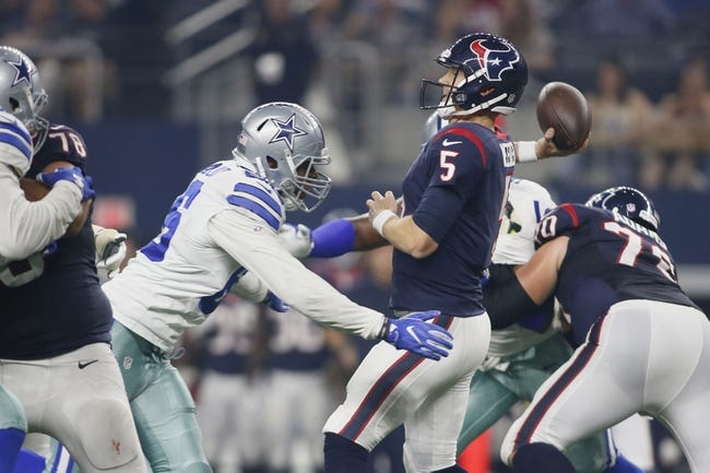 Houston Texans vs. Dallas Cowboys - 8/31/17 NFL Pick, Odds, and Prediction