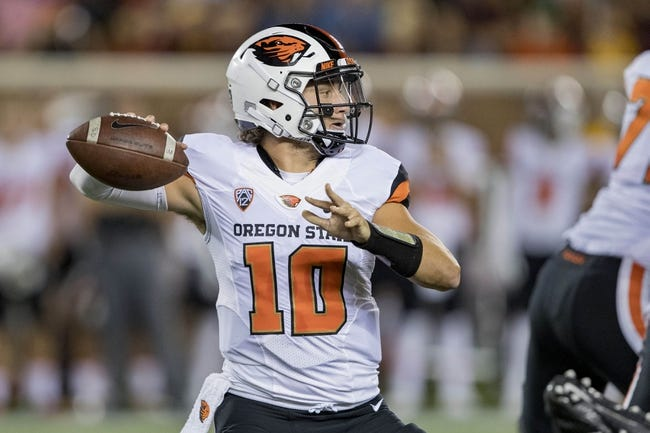 Oregon State vs. Idaho State - 9/17/16 College Football Pick, Odds, and Prediction
