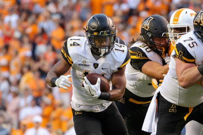 Georgia Southern Eagles vs. Appalachian State Mountaineers - 10/27/16 College Football Pick, Odds, and Prediction