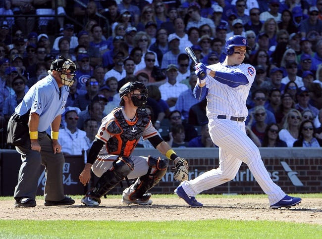 Chicago Cubs vs. San Francisco Giants - 9/3/16 MLB Pick, Odds, and Prediction