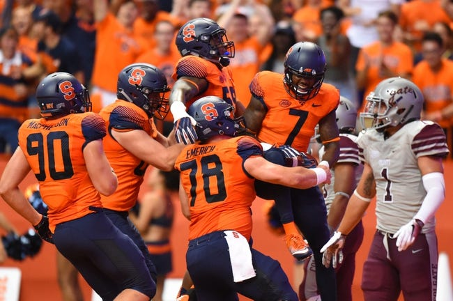 Syracuse Orange vs. Notre Dame Fighting Irish - 10/1/16 College Football Pick, Odds, and Prediction