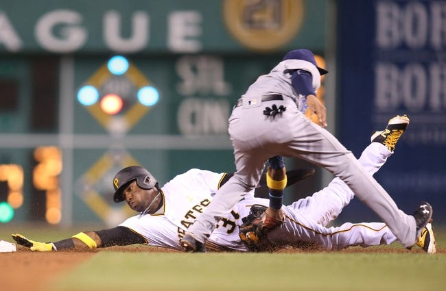 Pittsburgh Pirates vs. Milwaukee Brewers - 9/3/16 MLB Pick, Odds, and Prediction