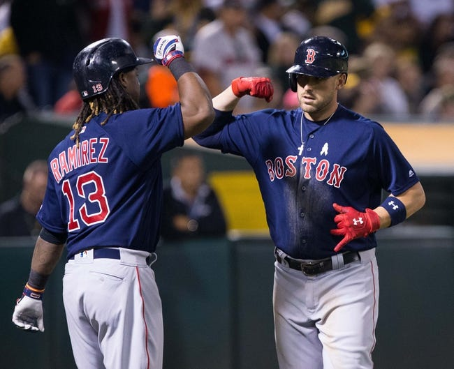 Athletics vs. Red Sox - 9/3/16 MLB Pick, Odds, and Prediction