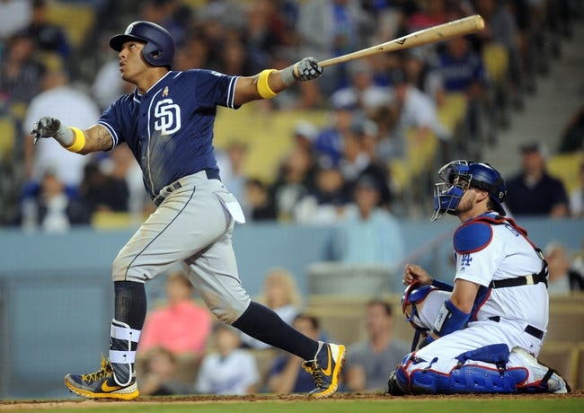 Dodgers vs. Padres - 9/3/16 MLB Pick, Odds, and Prediction