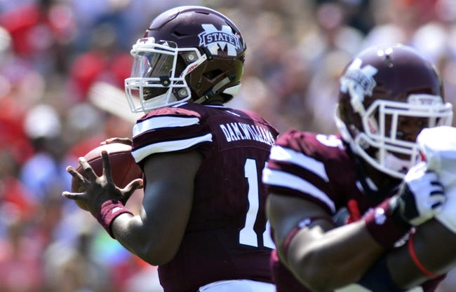 South Carolina at Mississippi State - 9/10/16 College Football Pick, Odds, and Prediction