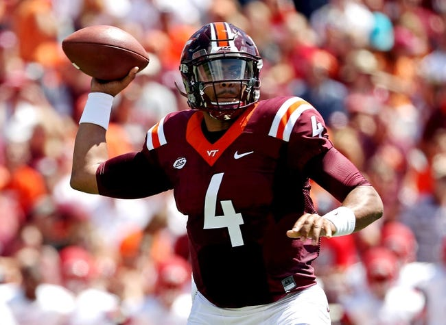 Virginia Tech Hokies vs. East Carolina Pirates - 9/24/16 College Football Pick, Odds, and Prediction
