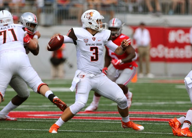 Bowling Green Falcons vs. Middle Tennessee Blue Raiders - 9/17/16 College Football Pick, Odds, and Prediction