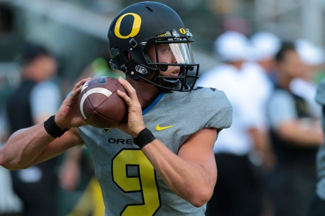 Virginia Cavaliers vs. Oregon Ducks - 9/10/16 College Football Pick, Odds, and Prediction