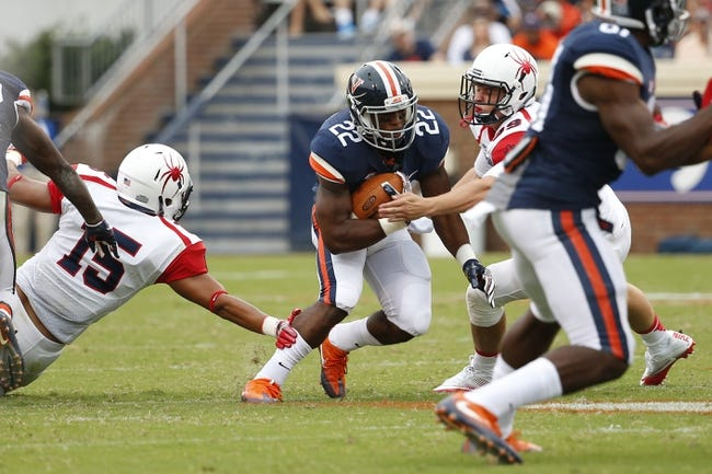 CFB | Richmond Spiders (0-0) at Virginia Cavaliers (6-7)