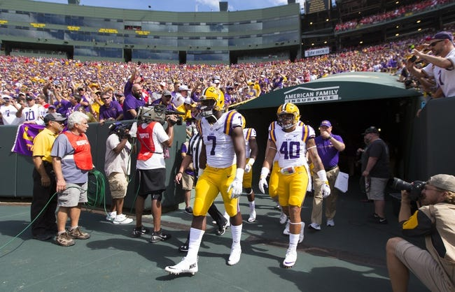 LSU vs. Jacksonville State - 9/10/16 College Football Pick, Odds, and Prediction